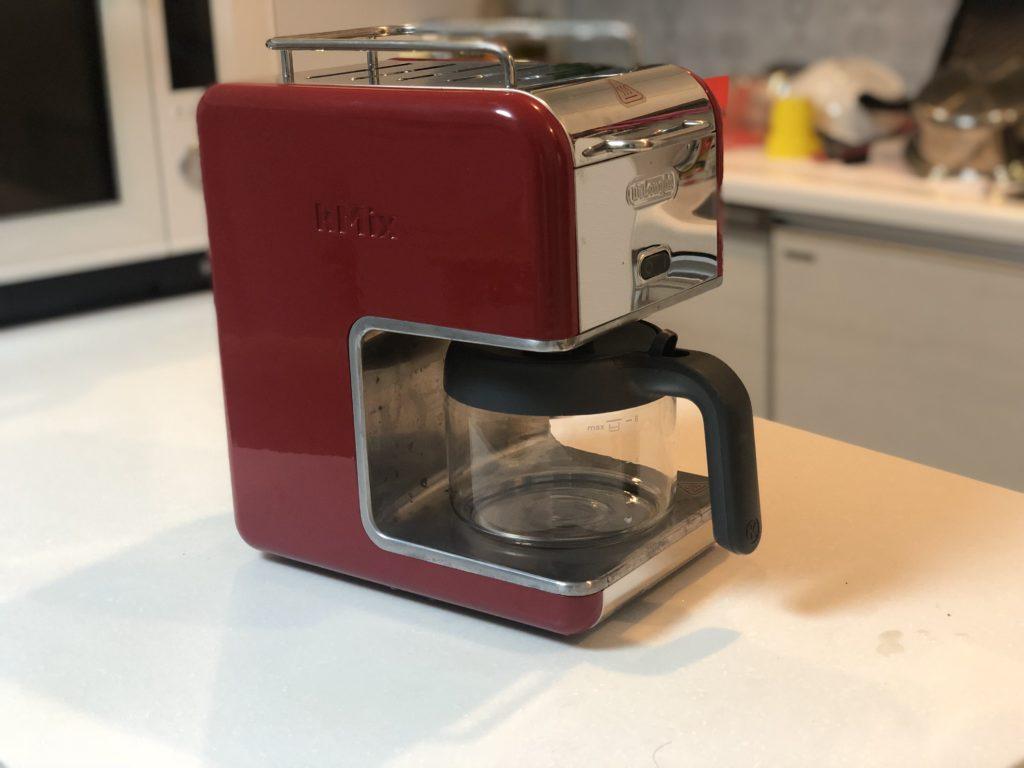 【口コミ】デロンギのケーミックスは一人暮らしにも最適なコーヒーメーカー