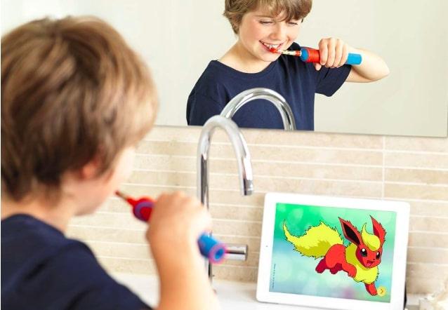 4歳からの子供用電動歯ブラシのススメ!PHILIPSソニッケアー【口コミ】