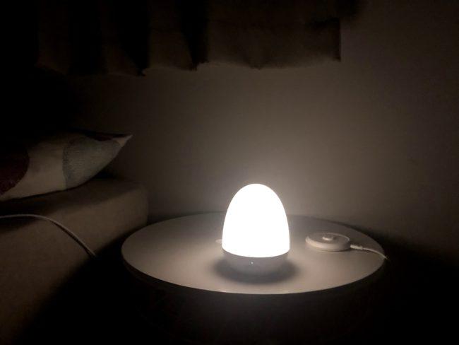 間接照明 寝室